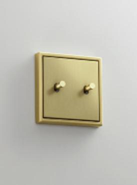 Новая интерпретация классического дизайна - кулисный тумблерный выключатель LS 1912 от JUNG